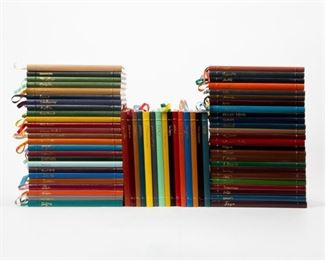 Lot 107: Easton Press 'Great Art & Artists' Complete 65 Volumes