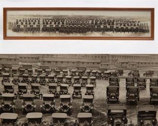 Lot 113: 1919 US Army Facility Motor Transport Panorama