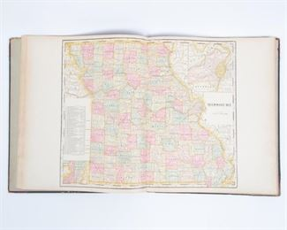 Lot 116: 1902 Standard Atlas of Worth County, Missouri
