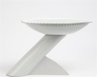 Lot 123: Matteo Thun Memphis Ceramic Karibe Fruitbowl