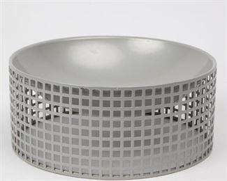 Lot 133: Josef Hoffmann for Bieffeplast Wiener Werkstätt Bowl