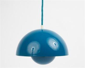 Lot 136: Verner Panton for Louis Poulsen & Co. Flowerpot Pendant Light