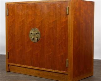 Lot 145: Edward Wormley for Dunbar Walnut Cabinet