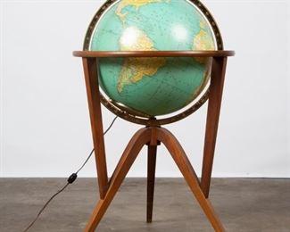 Lot 146: Edward Wormley for Rand McNally 'Cosmopolitan' Globe