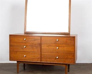 Lot 149: Drexel 'Declaration' Modern Walnut Dresser