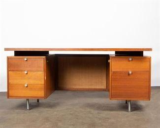 Lot 151: George Nelson for Herman Miller Executive Desk