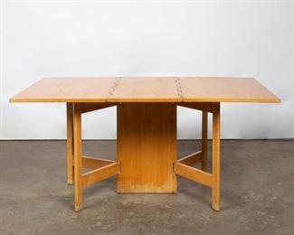 Lot 152: George Nelson for Herman Miller Gateleg Table