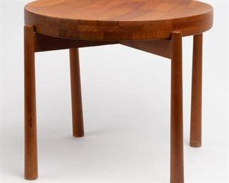 Lot 161: Jens Quistgaard Teak Tray Table