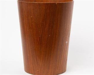 Lot 165: Martin Åberg IDG Teak Paper Waste Basket