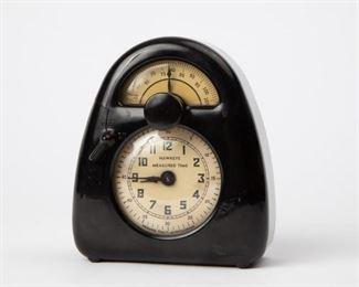 Lot 171: Isamu Noguchi Hawkeye Measured Time Clock