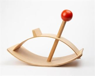 Lot 176: Creative Playthings Modernist Rocking Horse