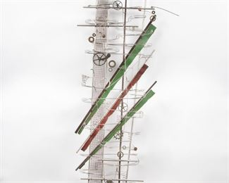 Lot 183: Contemporary Kinetic Wall Sculpture