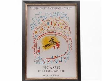 Lot 184: 'Picasso et la Tauromachie' 1982 Poster