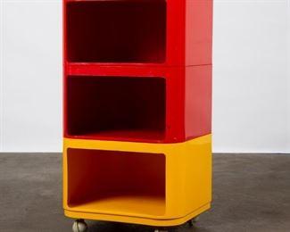 Lot 193: Anna Castelli for Kartell Modular Rolling Table