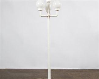 Lot 194: Euro Rustic Plastic Four-Globe Lamp