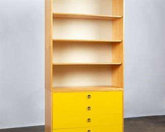 Lot 196: Jack Cartwright for Founders Dresser with Bookcase