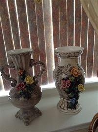 Some of many Capodimonte items