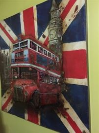 British Bus 3D Metal $150