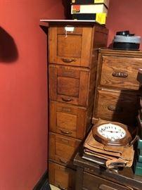 antique filing cabinet -mfg 1928