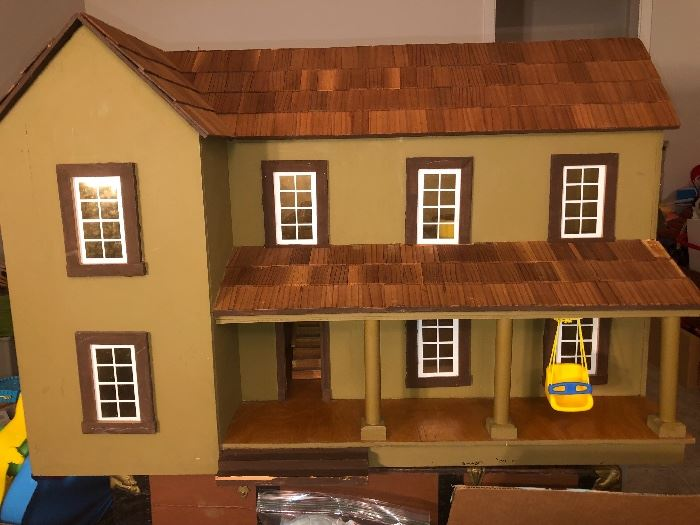 Hand crafted Doll House and furnishings