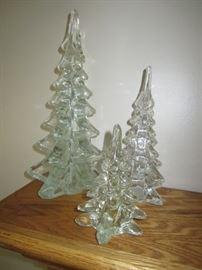 Art Glass Trees