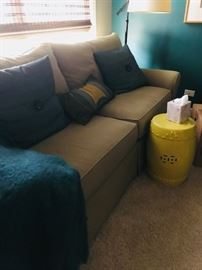 Excellent Condition, Walter E Smith Sofa, Sage Green Twill, like new. $600