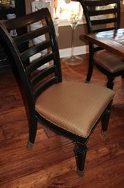 Dining Table with Eight Chairs with A Casual Look