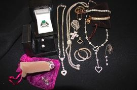 Costume and Sterling Jewelry