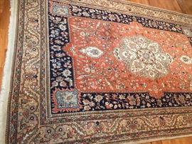 Authentic vintage Persian carpet Iran