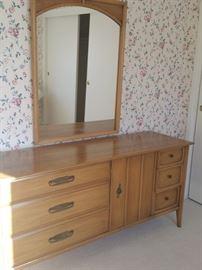 Mid Century Dresser Set