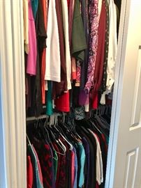 Lots of women's clothes