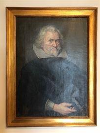 Antique portrait