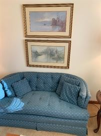 Matching Sofa and Loveseat