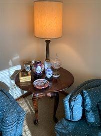 Vintage Marble Lamp