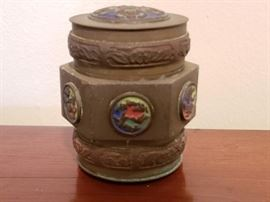 WWII Trench Art Container