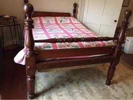 Atq Cherry Cannon Ball Bed
