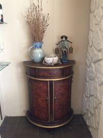 Semi circle cabinet/bar