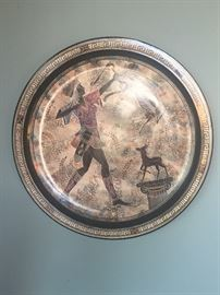 Wall art, Grecian?  Warrior, hunter