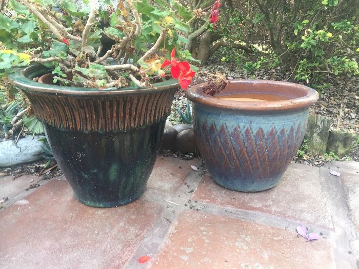 Outdoor pottery