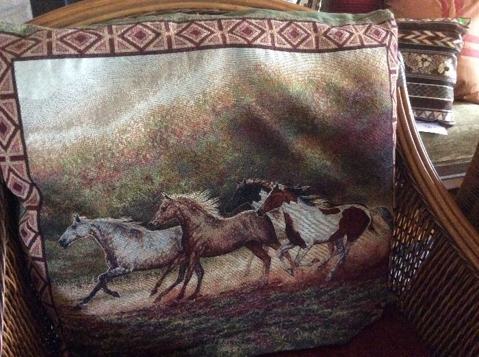 Large horse pillow