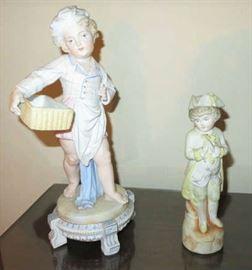 Antique Bisque Figurines