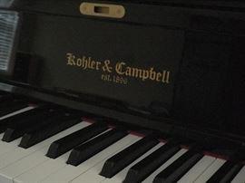 Kohler and Campbell New York Style, ebony, KC-247