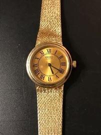 14K ladies Seiko Quartz watch