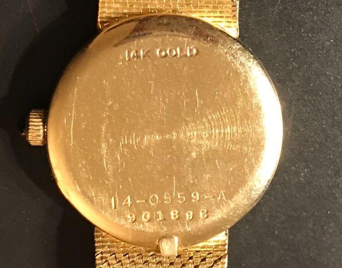 14K ladies Seiko Quartz watch--Valentines day??
