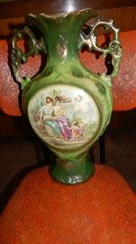 ANTIQUE VASE. NO HALOGRAMS OR STAMPS TO BE FOUND