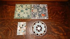 COLLECTION OF TILE DECOR