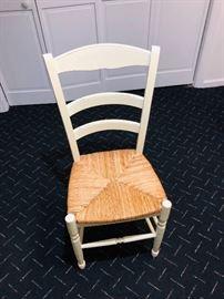 White Chair Set