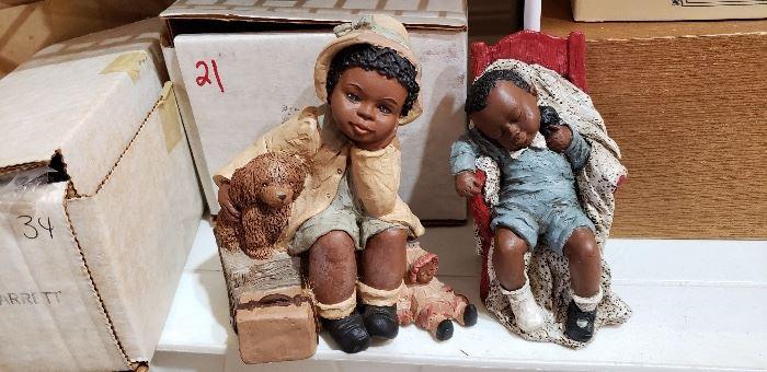 Martha Holcombe All Gods Children Figures