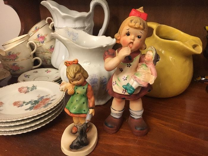 Misc. Pitchers, China, Hummel's & Figurines
