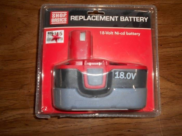 18V Replacement Battery